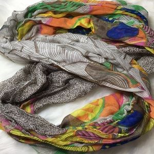 Accessories - Colorful Round Scarf